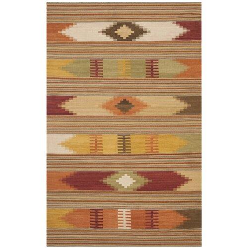 Safavieh Navajo Kilim Red & Multi Area Rug & Reviews