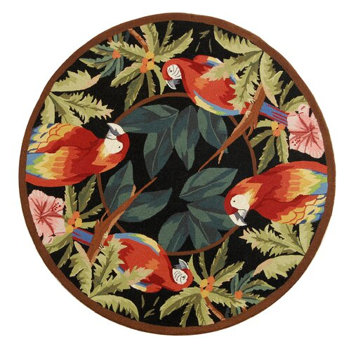 Safavieh Chelsea Tropical Parrot Novelty Area Rug