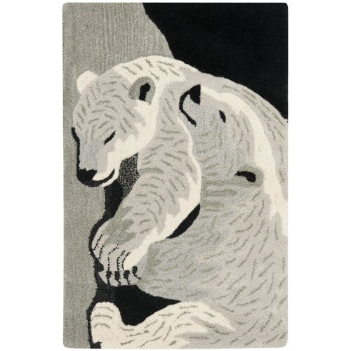 Safavieh Wilderness Black/Grey Novelty Rug