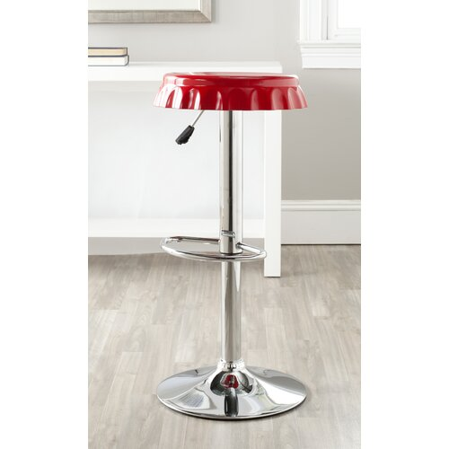 "Safavieh Bunky 23.6"" Adjustable Swivel Bar Stool"