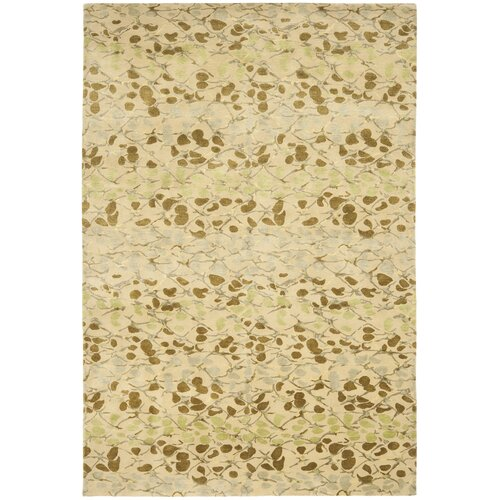 Martha Stewart Abstract Trellis Sprout Green Rug