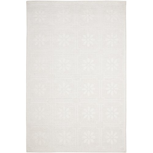 Martha Stewart Daisy Gls of Milk White Rug