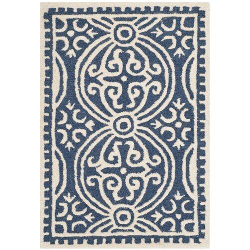 Safavieh Cambridge Navy Blue/Ivory Rug