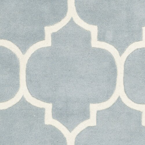 Safavieh Moroccan Blue And Black Area Rug: Safavieh Chatham Blue/Ivory Moroccan Area Rug & Reviews