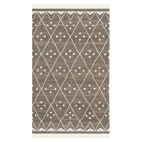 Safavieh Natural Kilim Brown / Ivory Dhurrie Rug