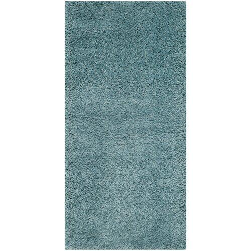 Safavieh Milan Shag Aqua Blue Area Rug & Reviews