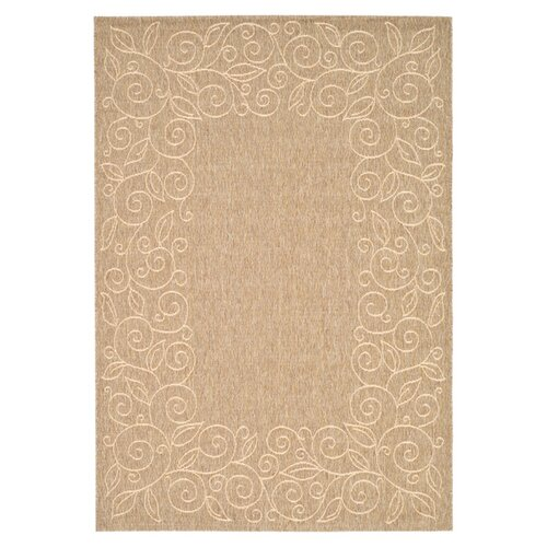 Courtyard Coffee/Sand Outdoor Rug
