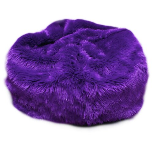 Fun Furnishings Fuzzy Fur Bean Bag Chair