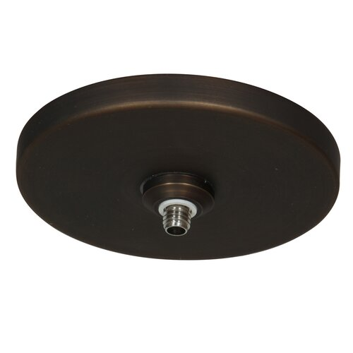 Ceiling Lamp Canopy: UniJack 1 Light Low Profile Mono Pod Canopy