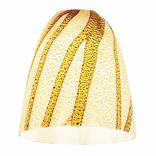 "Access Lighting 4"" Safari Glass Bell Pendant Shade"