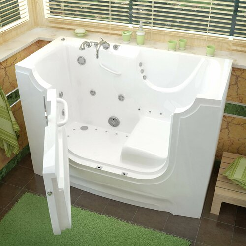 Therapeutic Tubs HandiTub 60 X 30 Air Whirlpool Bathtub Rev