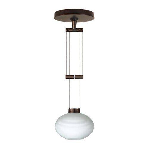 Lasso 1 Light Globe Pendant