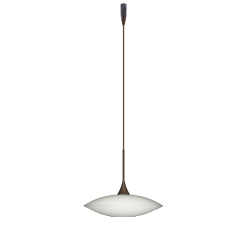 Besa Lighting Spazio 1 Light Mini Pendant Element with Rail Adapter