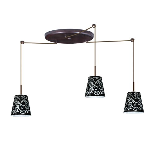 Besa Lighting Amelia 3 Light Pendant