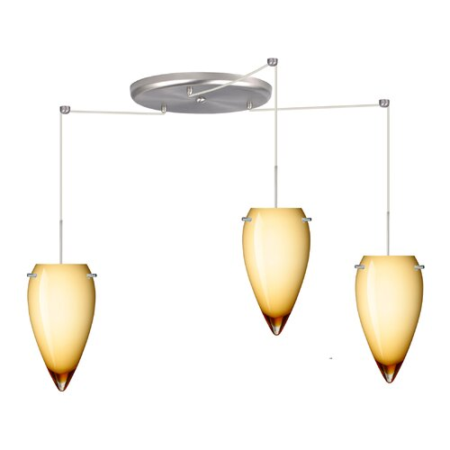 Besa Lighting Juli 3 Light Pendant