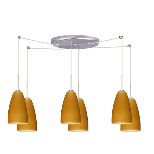 Riva 6 Light Pendant