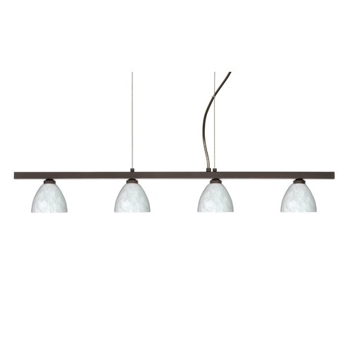 Divi 4 Light Kitchen Island Pendant