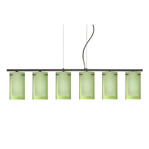 Pahu 6 Light Kitchen Island Pendant