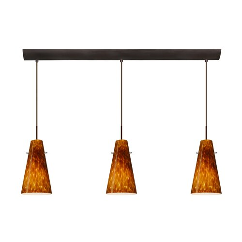 Besa Lighting Cierro 3 Light Mini Pendant