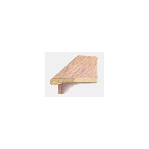 Mohawk Flooring Solid Flush Stair Nose Hardwood Trim