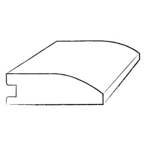 "Mohawk Flooring 0.31"" Engineered Wood Reducer Hardwood Trim"