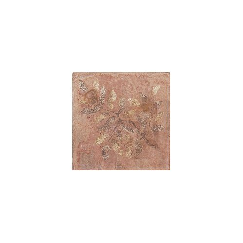 "Mohawk Flooring Slate Quarry Stone 4"" x 4"" Decorative Corner Insert in Terra"