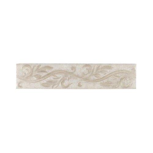 "Mohawk Flooring Natural Pavin Stone 14"" x 3"" Decorative Accent Strip in Gray Flannel"