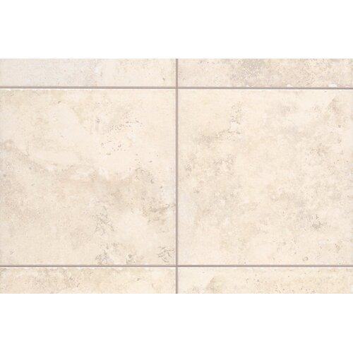 "Mohawk Flooring Natural Bucaro 6.5"" x 6.5"" Bullnose Corner Tile Trim in Bianco"