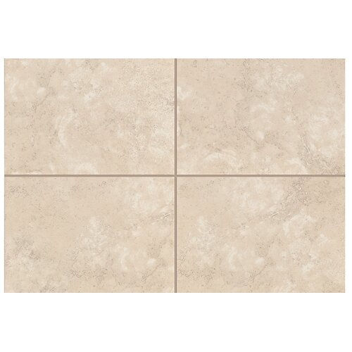 "Mohawk Flooring Natural Caridosa 8"" x 2"" Bullnose Tile Trim in Beige"