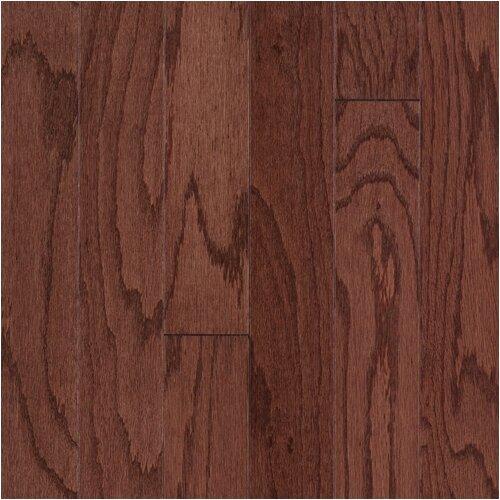 """Mohawk Flooring Lineage Forest Oaks 3"""" Engineered Oak Flooring in Cherry"""