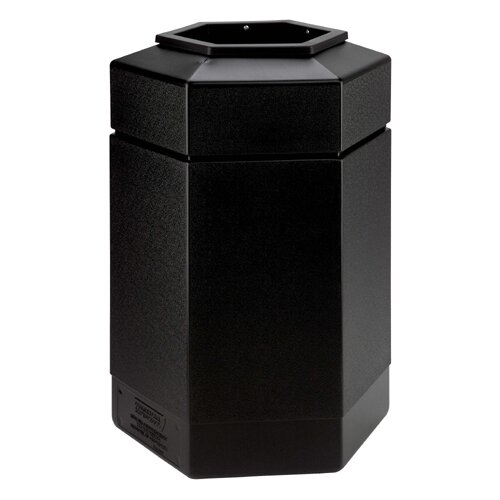 Commercial Zone 30 Gallon Hex Waste Container