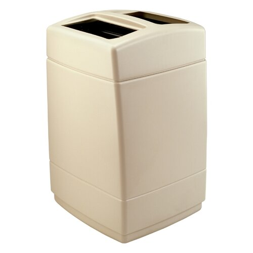 Commercial Zone 55-Gallon Square Waste Container