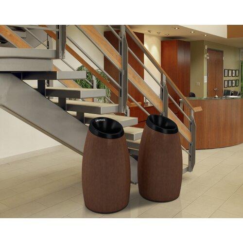Commercial Zone Garden Series Cypress 20 Gallon Industrial Recycling Bin