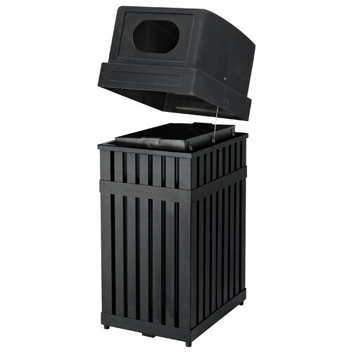 Commercial Zone ArchTec Parkview 25 Gallon Industrial Recycling Bin