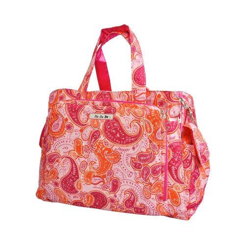Ju Ju Be Be Prepared Messenger Diaper Bag in Perfect Paisley