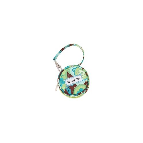 Ju Ju Be Paci Pod Zippered Pacifier Holder Diaper Bag in Drip Drops