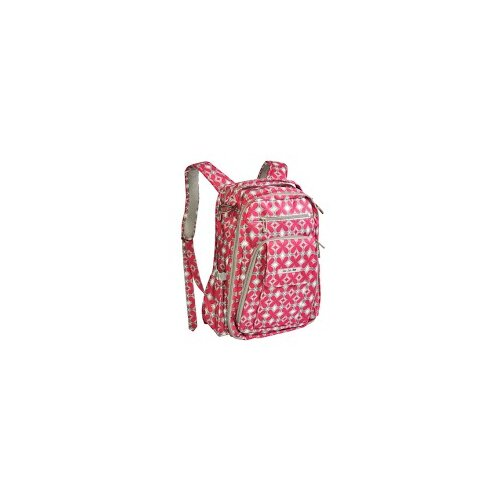 Be Right Back Backpack Diaper Bag in Pink Pinwheels
