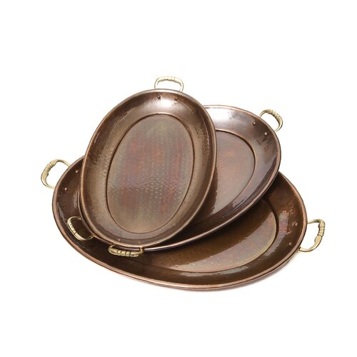 Old Dutch International Oval Serving Tray Set