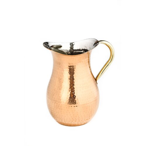 Hammered 1.5-qt. Water Pitcher