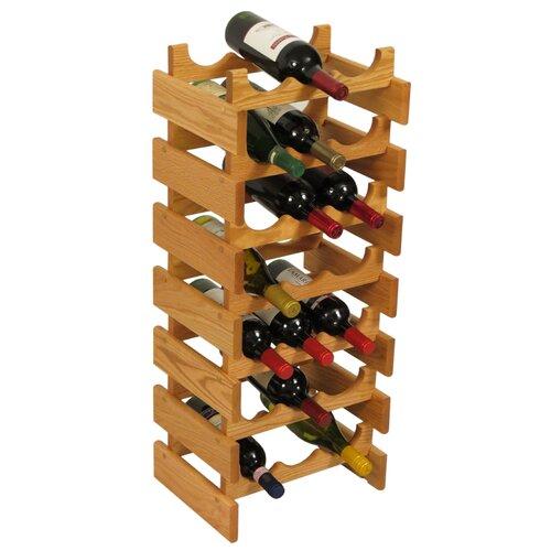 Wooden Mallet Dakota 21 Bottle Wine Rack