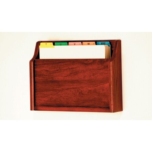 Wooden Mallet Single Pocket Chart Holder