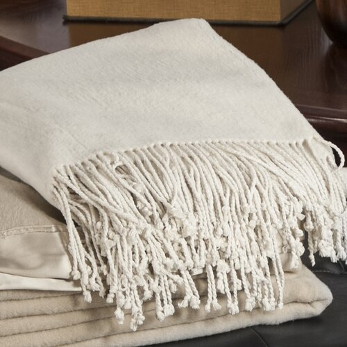 Barska Aus Vio Mulberry Silk Fleece Throw Blanket