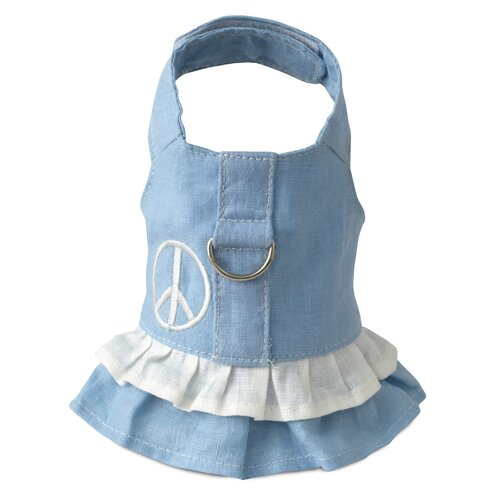 Dog Boutique Blue Peace Harness