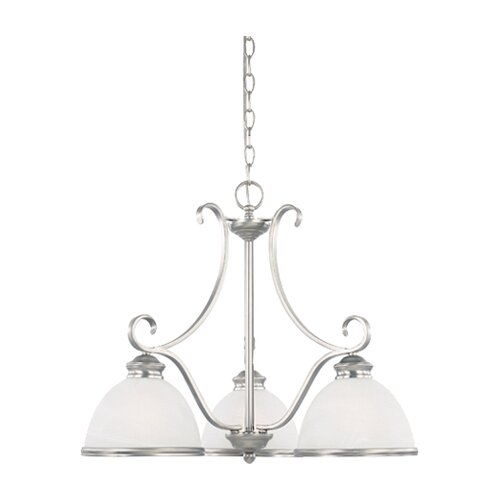 Savoy House Akers 3 Light Chandelier