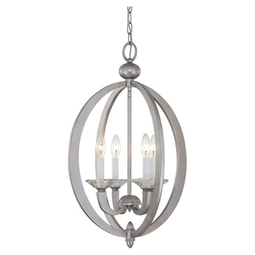 Wildon Home ® Morgan 4 Light Foyer Pendant