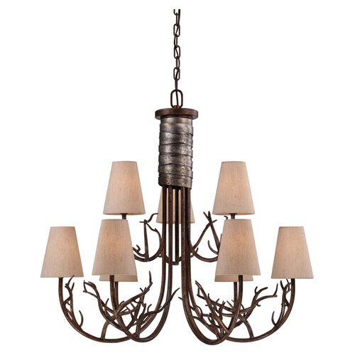 Wildon Home ® Skylar 9 Light Chandelier