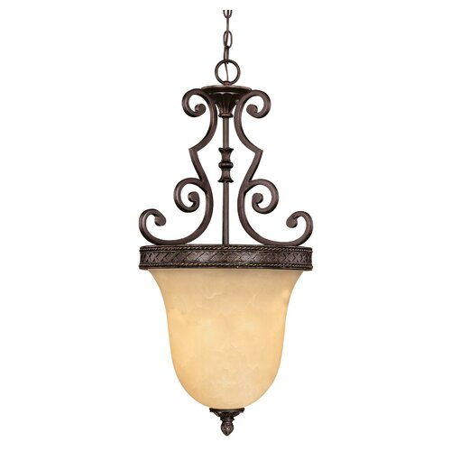 Wildon Home ® Ladoga 3 Light Bell Inverted Pendant
