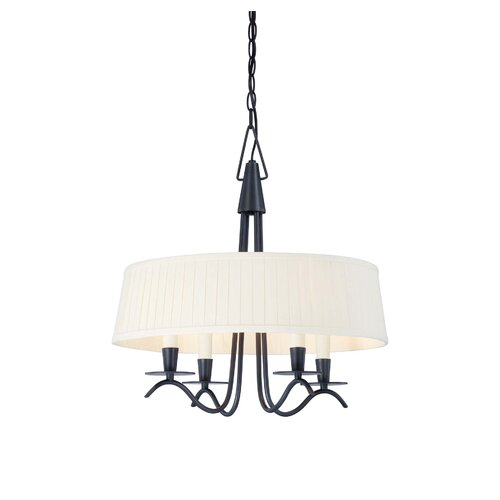 Wildon Home ® Cooper 4 Light Drum Pendant