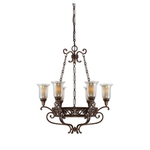 Walker 6 Light Chandelier