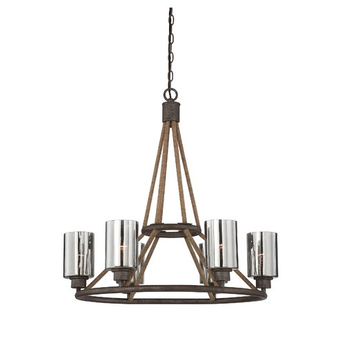 Wildon Home ® Maverick 6 Light Chandelier